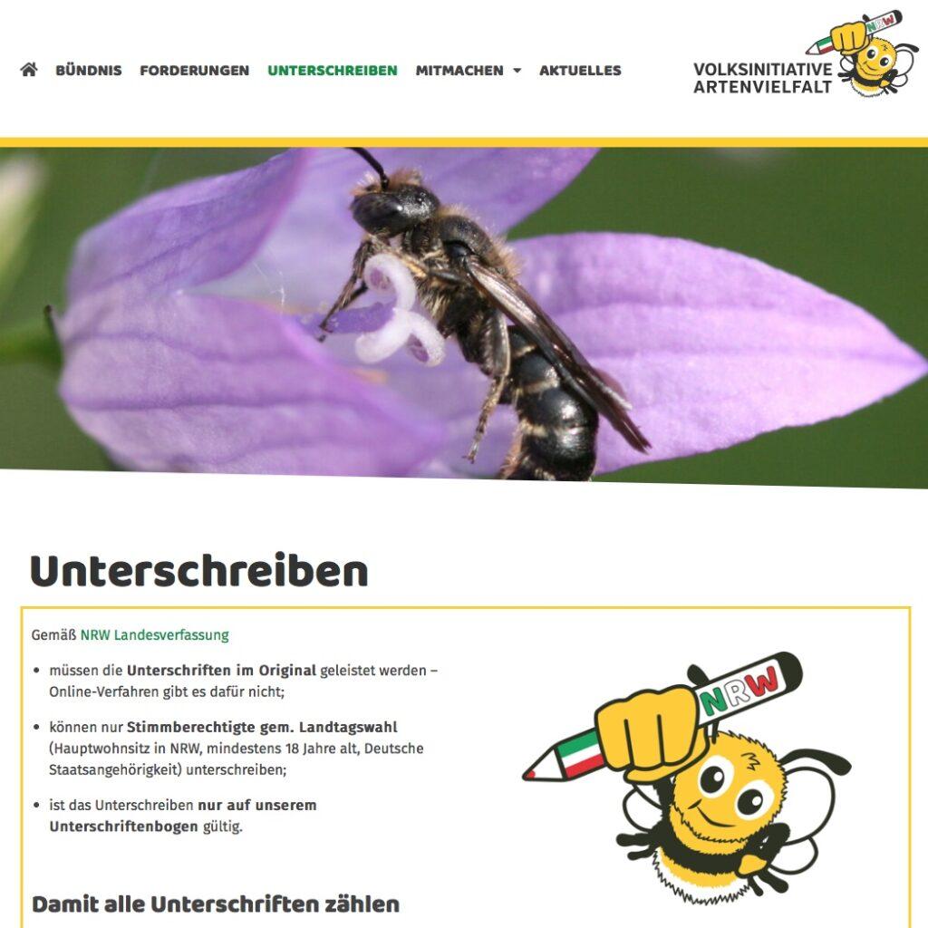 Artenvielfalt NRW (Volksinitiative)